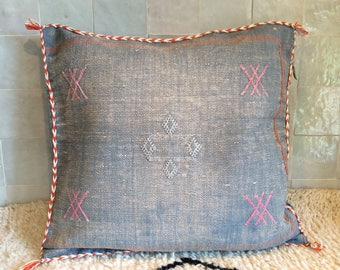 Berber cactus silk cushion cover, Sabra silk