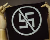 Anti-Nazi Patch | Punk patch | Screen print | Patches for Jackets | Metal patch | Back Patch | Vegan Patch | Equality Patch | Antifa Patch