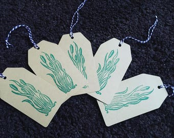 Fen bull rushes gift tags