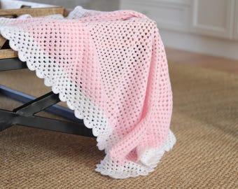 Ready made crochet blanket