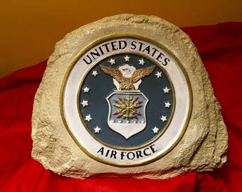 Concrete United States Air Force Stone