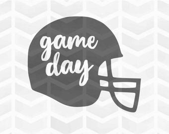 Game Day SVG and DXF Cut File - PNG - Download File - Cricut - Silhouette