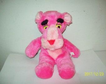 Vintage Pink Panther Stuffed Plush, Vtg 1964 Mirisch-Geoffrey by Mighty Star,