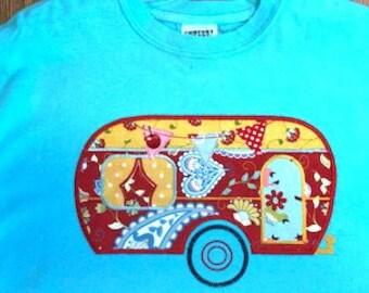 Retro Camper T Shirt