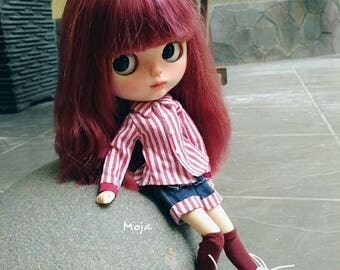 Custom OOAK Factory Blythe Doll by Moja