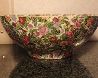 Crown Ducal Ware Chitz Bowl