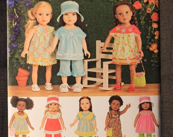 Simplicity 1136   Elaine Heigl Design   18 in Doll Clothes