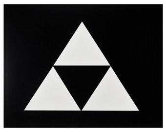 Triforce stencil - The Legend of Zelda