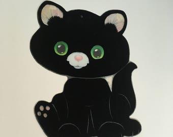 Halloween black cat   Etsy