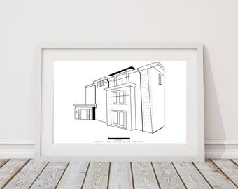 A4 personalised home print