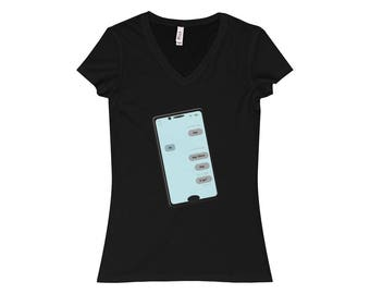 WomenS U Up VNeck Tee Sender