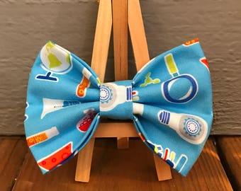 Chemistry Dog Bow Tie