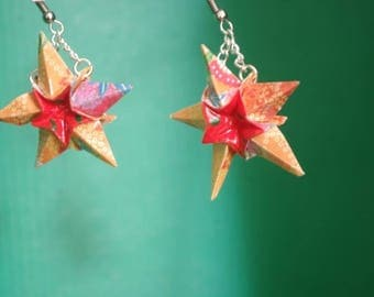 """Stars"" (ET_001) earrings"