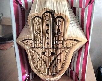 Hamza Hand Book Folding Pattern