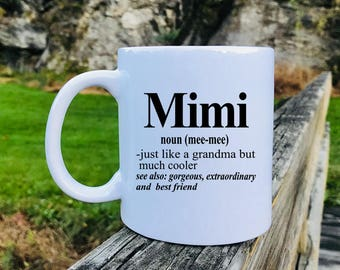 Mimi - Mug - Mimi Gift - Gift For Mimi - Mimi Mug