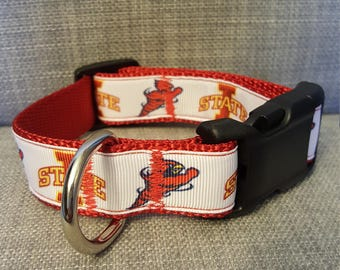 Iowa State {ISU} Dog Collar