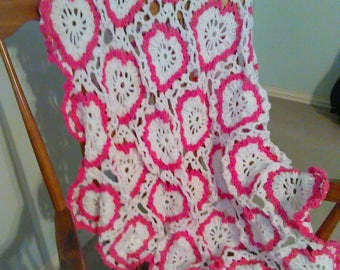 Sweetheart Afghan/Throw