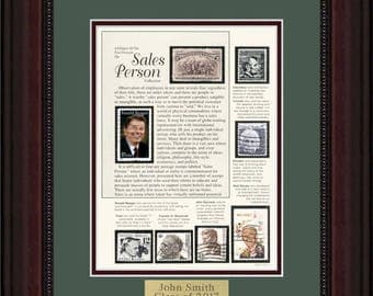 Sales Person 5952 - Personalized Framed Collectible (A Great Gift Idea)