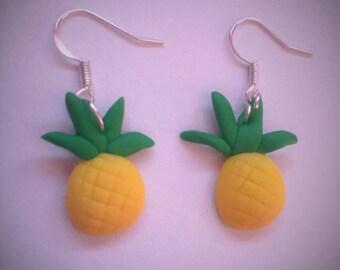 Pineapple earrings