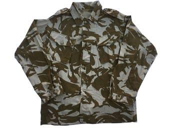 British Military Jacket Tropical Desert DPM Men's L