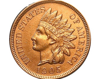 1905 Indian Head Cent - Choice BU / MS / Unc