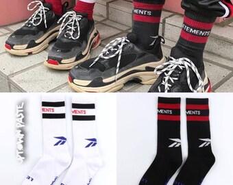 Vetements Socks Mens Socks Gosha Rubinchinskiy CDG Supreme Commes Des Garcons Off White Yeezy Socks Bape Hypebeast Clothing