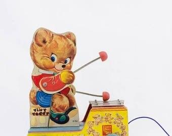 FLASH SALE Fisher Price 1955 Tiny Teddy #634
