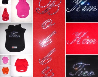 "Rhinetastic ""Customized"" Pet Clothing with Swarovski® Elements"