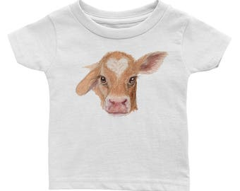 Baby Cow Calf Infant Tee