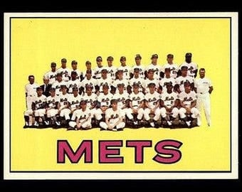Vintage 1967 Topps #42 New York Mets TC NM