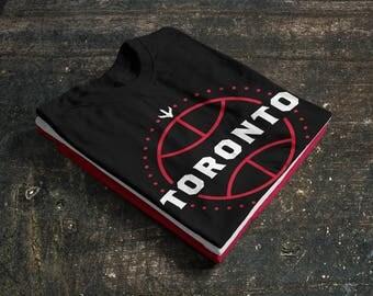 Toronto Raptors Basketball Fan T-Shirt 50/50 blend (Fan Made)