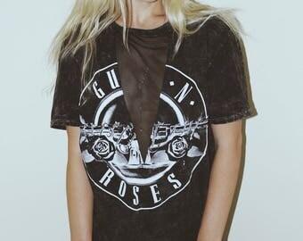 Vintage Guns N Roses Mesh Tee