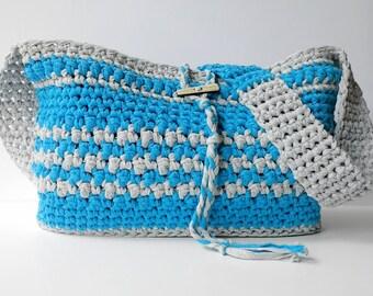 Boardwalk Crossbody Crochet Bag - PATTERN ONLY