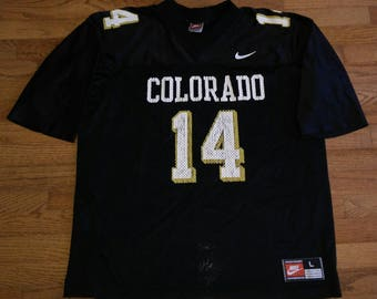 Vintage NCAA Nike University of Colorado Buffaloes football jersey