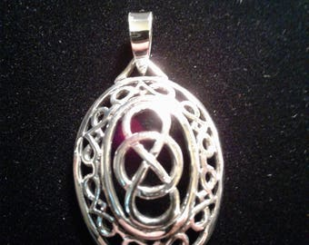 Celtic Sterling Silver Charm (15)