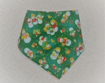 Bandana Bib, Christmas, Dribble Bib, Christmas, Baby Bandana Bib, Christmas Dribble Bib, Christmas Bib, Baby Christmas