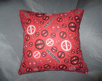 Deadpool 16x16 Decorative Throw Pillow (with Insert)