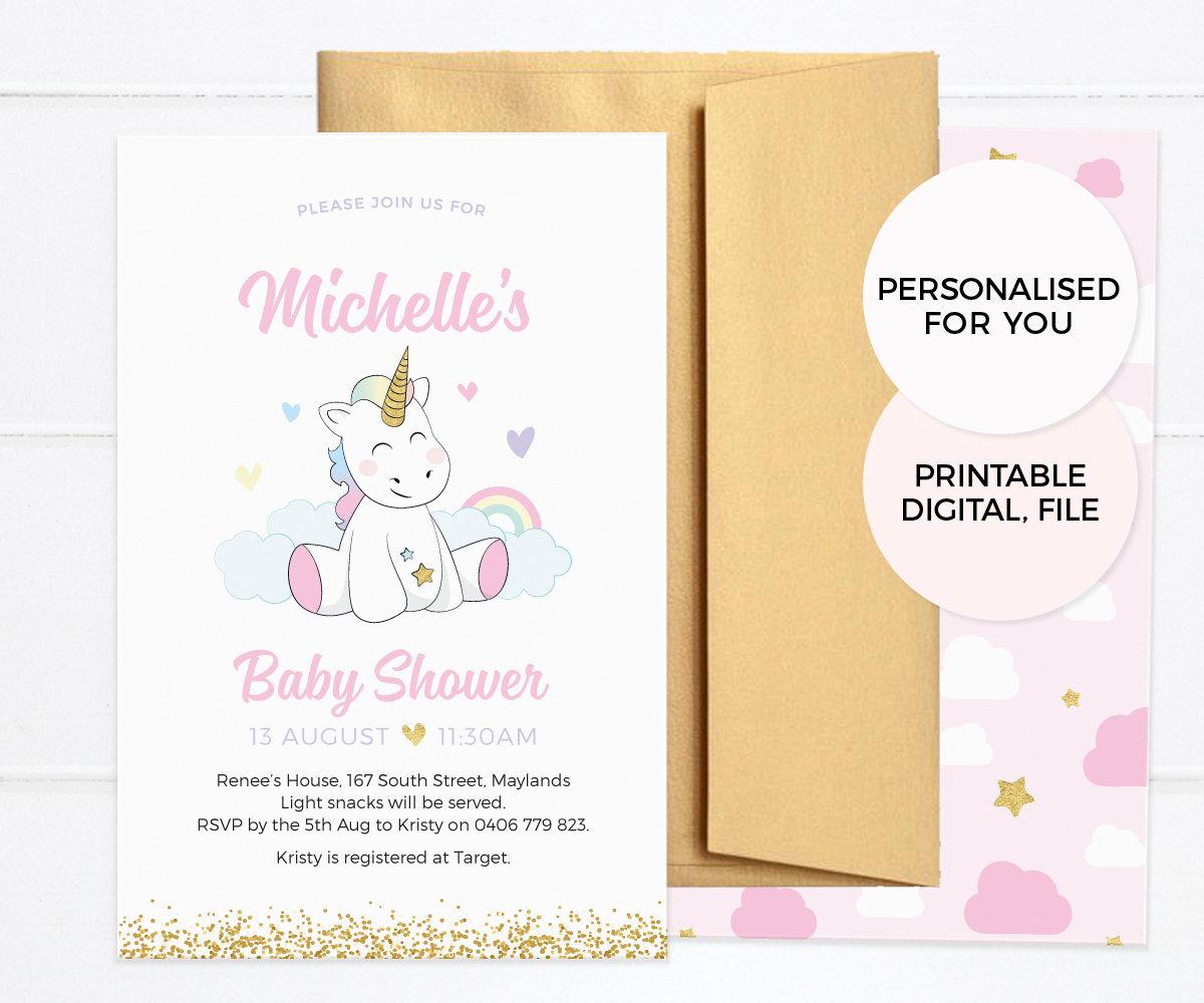 Unicorn baby shower invitations girl baby shower invitations unicorn baby shower invitations girl baby shower invitations printable baby shower invites unicorn baby sprinkle filmwisefo