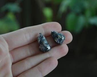 Van Gogh's Pear earring studs