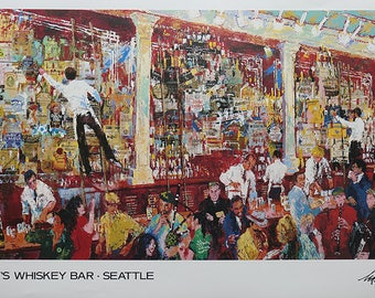 F.X. McRory's Whiskey Bar-Seattle LeRoy Neiman