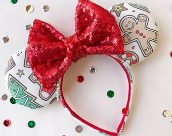 Christmas Cookie Mouse Ears