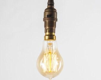 Bayonet 40W Small Edison Teardrop Globe Filament Bulb