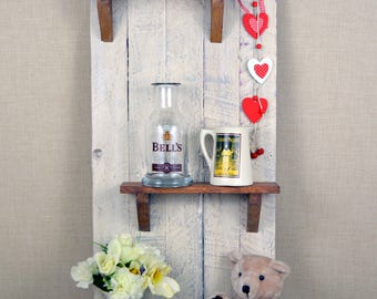 Handmade - Upcycled Wall Shelves - Pallet Shelves - Rustic Shelving - Rustic Wooden Shelving - Reclaimed Wooden Shelving