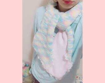 Reversible Kawaii Sparkle Scarf