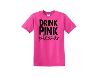 CLEARANCE Drink Pink Plexus Shirt