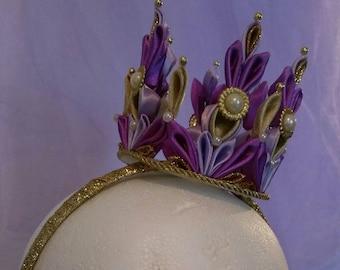 Royally Violet Princess Birthday Crown