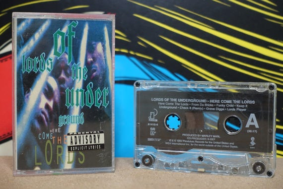 Here Come The Lords by Lords Of The Underground Vintage Cassette Tape