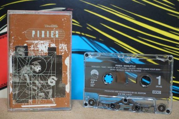 Doolittle by Pixies Vintage Cassette Tape