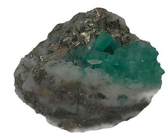 22 - Natural Raw Colombian Emerald Specimen - Natural & Untreated