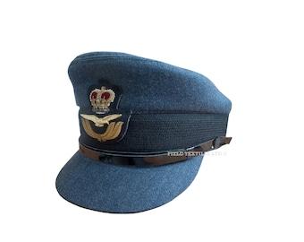 Royal Air Force Officer Female Peaked Cap - RAF - Size 57 cm - E407